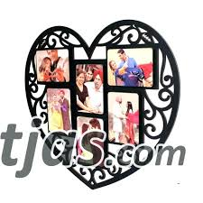 heart collage frame small size of we heart daddy photo collage frame wooden heart collage photo heart collage frame