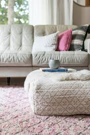 I've had about five different variations of a pouf DIY saved on Pinterest  for as long as I can remember! I finally decided to put my efforts toward  one that ...
