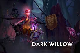 one of the new dota 2 heroes is named dark willow buffy