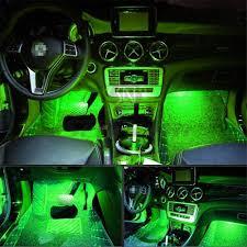 Car Atmosphere Light Price Amazon Com 4pcs Car Led Interior Underdash Lighting Kit W