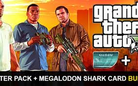 You'll also get the criminal enterprise starter pack, the fastest way to jumpstart your criminal empire in grand theft auto online, plus a megalodon shark cash. Buy Grand Theft Auto V Premium Online Edition Megalodon Shark Card Bundle Rockstar Games Pc Cd Key Instant Delivery Hrkgame Com