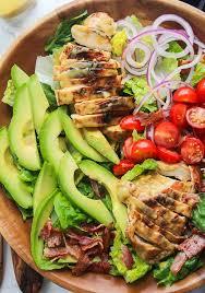 chicken salad.  Salad Honey Mustard Chicken Salad To K