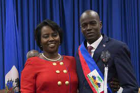 of Haiti First Lady Martine Moise ...