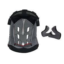 Troy Lee Designs Pads Troy Lee Designs Helmet Liner And Cheek Pads Air Black