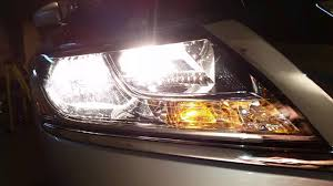 Led Light Bulb Upgrade Comparison On Nissan Pathfinder By