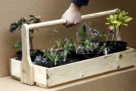 large wooden trug planter window herb box from recycled pallet 1 of 3free