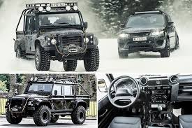 Special Edition Land Rover Defender Used To Fight James Bond In Spectre  Sell For £150,000