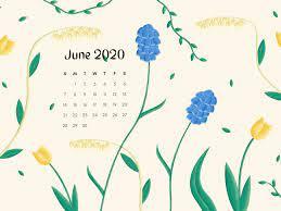 June Calendar 2020 Wallpaper - KoLPaPer ...