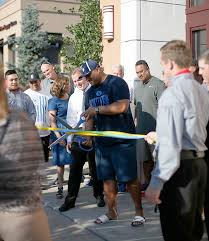 byu head football coach kalani sitake cut the ribbon at a vip event on friday night to celebrate the opening of rodizio grill photo courtesy of rodizio