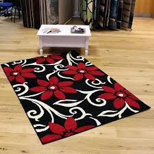 red black rug popular red and black rugs decor red white black and blue rugby