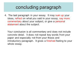 the writing process terminology essay a piece of writing that  the last paragraph in your essay