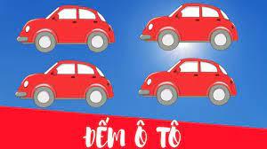 Dạy bé tập đếm xe ô tô từ 1 đến 10 | trẻ học đếm số - YouTube