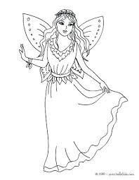 Coloring Pages Fairy Butterfly Fairy Coloring Pages Fairy Dress