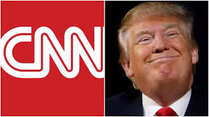 Image result for images of Donald Trump and CNN