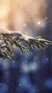 mk28-snowing-tree-blue-christmas-winter ...