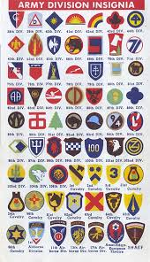 Us Army Patch Chart The Good War For Design Military Insignia Army Divisions