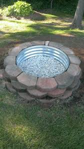 diy fire pit kit awesome fire pit diy landscaping blocks metal ring marble white stones of