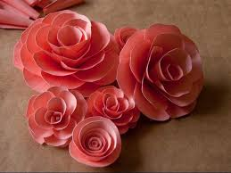 Paper Flower Making Video How To Make Paper Roses Step By Step Easy Paper Flower Making