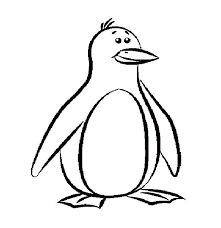 Coloring Pages Penguin Print Penguin Coloring Page Download Coloring