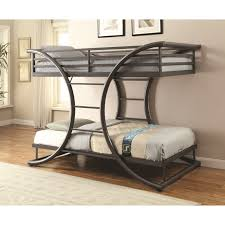 embrace loft bed with caster and left steps. coaster bunks twin/wtin bunk bed embrace loft with caster and left steps