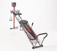 Total Gym Titanium W 12 Levels Of Resistance 8 Accessories Qvc Com