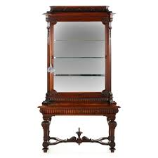 english antique display cabinet. Antique English Display Cabinet Vitrine, 19th Century I