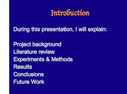 using powerpoint slides how to create a presentation 2 whilst looking at each slide in turn consider the following and how this affects the visibility and readability for the audience