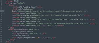 Routing in Angular JS using Angular UI Router - GeeksforGeeks