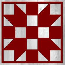 Metal Barn Quilt Block - Sister's Choice - 12