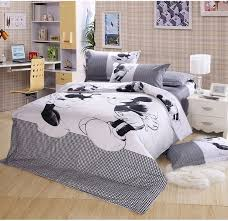 100 cotton bedding mickey mouse sets 4pcs regarding comforter king size plan 12