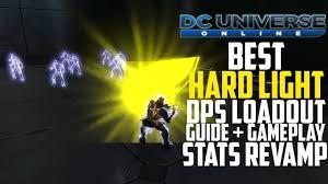 Dcuo Light Dps Loadout 2017 Dcuo Best Hardlight Dps Loadout 2017 Stats Revamp