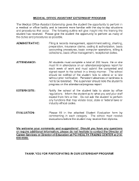 Resume Sample For Doctors Resume Sample Medical Assistant Internship New Resume Sample For 47