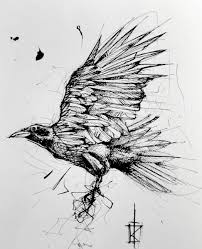 Pin By Reason 97 On Tattoos In 2019 Sketch Style Tattoos Crow