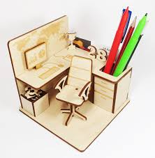 diy office furniture. DIY Office Cubicle Pen Stand - Home Desk Stationary Organizer: Amazon.in: Diy Furniture