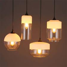 Nordic <b>Modern Pendant Lamp</b> Globe <b>Glass Pendant Lights</b> For ...
