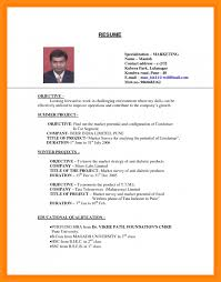 How To Make An Resumes How Make Resume For Job How Make A Resume For First Job 5 Reinadela