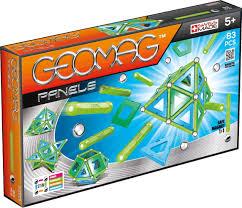 Магнитный <b>конструктор GEOMAG Panels</b> - <b>83</b> детали - купить по ...