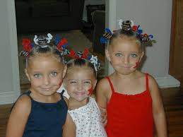Fourth Of July Hairstyles 4th Of July Hairstyle Star Twists Cute Girls Hairstyles