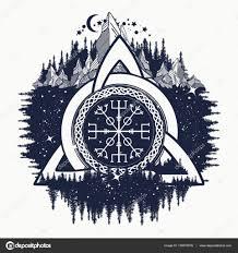 символы викингов символы викингов кельтский троицы узел шлем