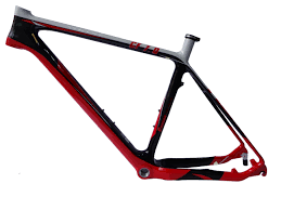 mb207 red color painting carbon mountain bike frame carbon fibre frame bicycle parts cycling accessories bike frame road bike frames from neasty