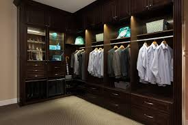 closet lighting led. Contemporary Closet Campbell Showroom Closet With Led Lighting Traditional Throughout