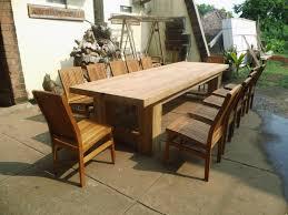 great nice custom teak furniture large outdoor table plans tradur