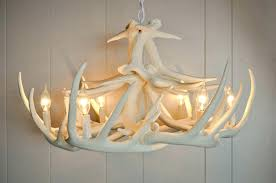 white antler chandeliers image of amazing chandelier light
