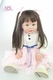 NPK <b>70cm Silicone Reborn</b> Baby Doll Toys Like Real 28inch Vinyl ...