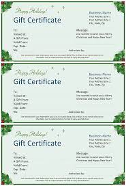 Use our premade templates as the barebones of your design, then use the available tools of our creator to change the text, font, colors and images. Christmas Gift Certificate For Word