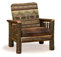 Living Room Furniture Made In The Usa Rustic Hickory And Oak