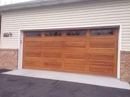 chi garage door16 x 7 CHI Garage Door  Model 4283 Accent  Color Cedar
