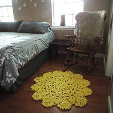 fl nursery rug small yellow doily round area throw rug crochet rustic rug pink fl nursery