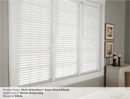 premium 2 inch faux wood blinds snow white 33 1 x 60