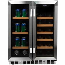 built in beverage refrigerator. EdgeStar CWB1760FD 24 Inch Built-In Wine And Beverage Cooler With French Doors Built In Refrigerator